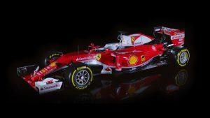 Shell et Ferrari lancent la nouvelle F1 SF16-H