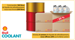 shell coolant offre